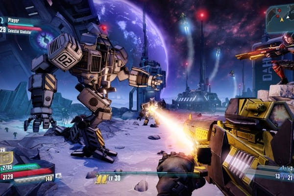 Borderlands The Pre-Sequel x4