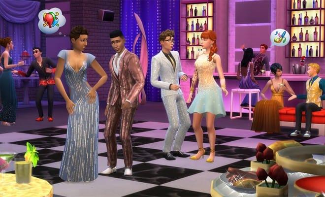 Les Sims 4 Soirees de Luxe Jeux PC Complete Version