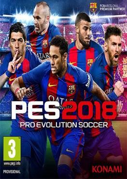 Pro Evolution Soccer 2018 PES 2018 télécharger et gratuit jeu pc