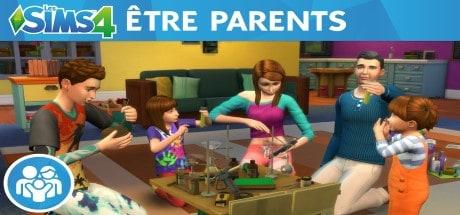 Les Sims 4 Être parents jeu