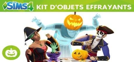 Les Sims 4 Kit d'Objets Accessoires Effrayants jeu