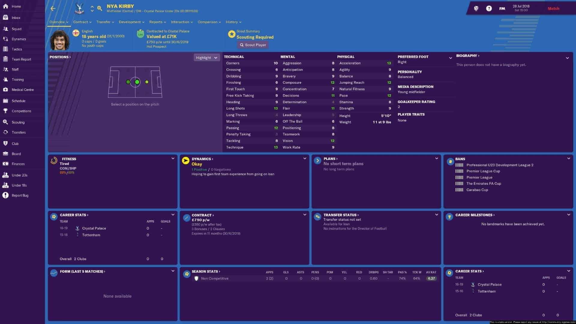 Football Manager 2019 Demo Restrictions Anti Feixista
