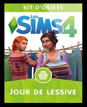 Les Sims 4 Jour de lessive